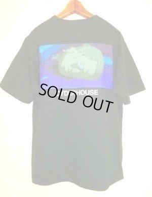 画像1: CYDERHOUSE 原画バトーFACE Tシャツ BLACK