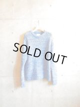 bukht BROKEN SWEATER INDIGO