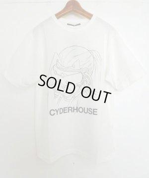 画像1: CYDERHOUSE 原画モトコMASK Tシャツ WHITE