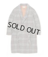 SANDINISTA Easy Fit Wool Check Gown