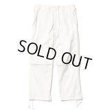 TONE 2WAY OVER PANTS WHITE