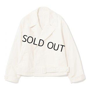 画像1: THE NERDYS TRENCH short jacket O.white