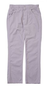 bukht SHOE CUT CHINO PANTS LILAC
