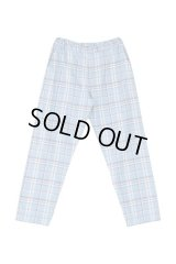 PHINGERIN NIGHT PANTS WC ブルーチェック