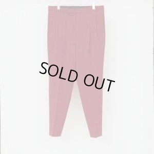 画像1: LITTLEBIG 2-Tuck Tapered Trousers Red