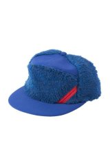 PHINGERIN PANEL CAP FLUFFY ブルー