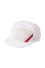 PHINGERIN PANEL CAP FLUFFY ホワイト