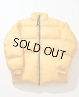 EFILEVOL Puff Jacket Collaboration With GERRY Yellow