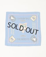 THE NERDYS BANDANA scarf BLUE