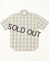 THE NERDYS WOODY.A b.d check short sleeve shirt