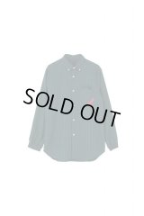 PHINGERIN SOUP SHIRT GINGHAM OX グリーン