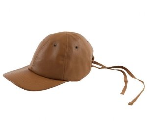 画像1: bukht LEATHER CAP CAMEL
