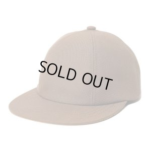 画像1: TONE WOOL 6 PANEL CAP BROWN